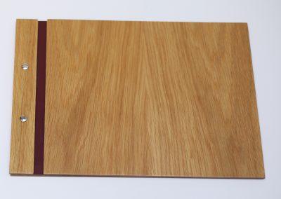 Porta Menús de Madera – 23,5 x 32,5 cm