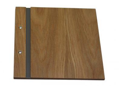 Portamenús de Madera – 23,5 x 23,5cm