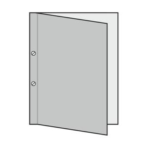 04 - encuadernado vertical - tornillos exteriores