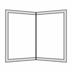 01 - Porta Menus con goma para Papel